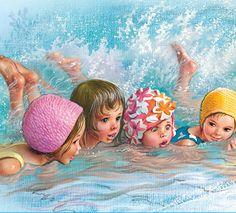 apprend à nager 4