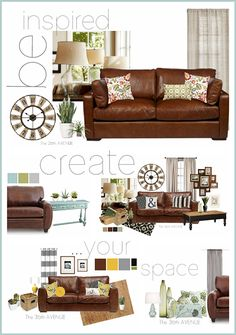 Awesome Living Room Decor Ideas by the36thavenue.com