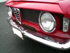 1966 Alfa Romeo Giulia Sprint GTA Nose Detail