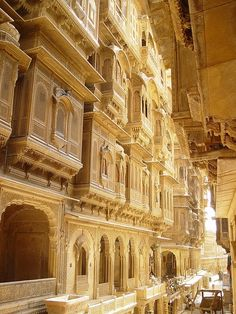 Jaisalmer, the Golden City, Rajastan, India