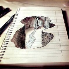 stuff to doodle when your bored on lined paper - Google Search