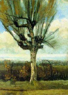 Vincent van Gogh: The Paintings (The Willow). November 1885. Oil on canvas.  Den Bosch, Netherlands: F. van Lanschot Bankiers NV.