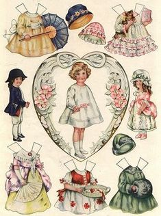 How to Make and Print Your Own Free Paper Dolls Online and Off; Including Vintage Paper Dolls