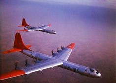 B-36 Peacemakers before the jet pod add-on