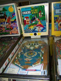 """1969 Road Race """"Gottlieb""""Pinball Machine"""