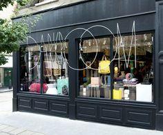 Exclusive fashion shop Concept Interior - Darkroom, UK London >> Furniture Design