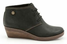 Womens Casual Boots - Marilyn Zoe in Black Nubuck from Clarks shoes