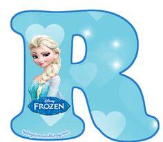 Es momento de compartir con las fans de Elsa y Anna un excelente alfabeto de Frozen con la figura de Elsa para descargar gratuitamente y preparar las mejores decoraciones y adornos de fiesta. Ademá… Frozen Theme, Frozen Cake, Frozen Party, Frozen Banner, Olaf, Theme Mickey, Glitter Wallpaper, Decoupage Paper, Princesas Disney
