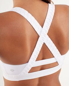 Lululemon- I wear this bra every time I run and it is by far the best sports bra!