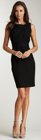 the little black dress , dress it up dress it down ,it goes from morning to evening, with the right accesories of course