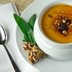 Multiple Butternut Squash Recipes - Roasted Winter Squash Soup