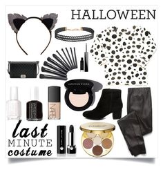 """""""Last Minute Halloween Costume: Mans Best Friend"""" by polyboho ❤ liked on Polyvore featuring tarte, Splendid, Marc Jacobs, Steve Madden, NARS Cosmetics, Essie, Humble Chic, Givenchy, Chanel and LastMinute"""
