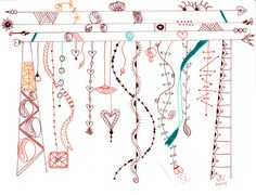 A new Zenspirations Dangle Design -- delightful! Love the cool columns... from Valencis Tangle 192