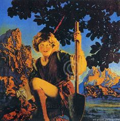 maxfield parrish art |