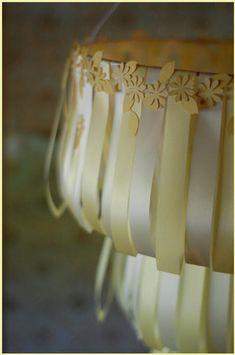 DIY - Wedding Cake Chandelier - The Bride's Cafe