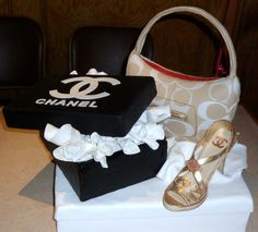 getty images cake purses | when she received this cake black white lv bag