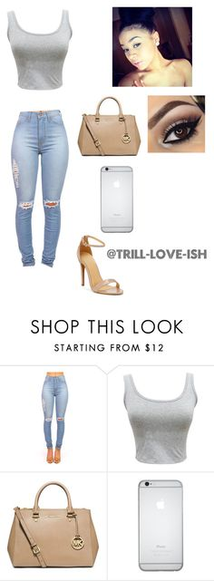 """""""Untitled #45"""" by trill-love-ish ❤ liked on Polyvore featuring MICHAEL Michael Kors"""