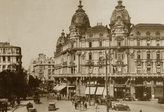 Once Upon A Time in Bucharest: Hotel Imperial Palace Hotel, Bucharest, Old City, Vintage Photographs, Rotterdam, Old Photos, Big Ben, Paris Skyline, Taj Mahal