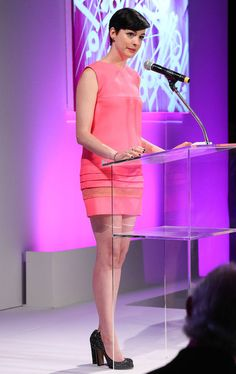 Anne Hathaway - FIJI Water At The 9th Annual Pink Party Benefiting The Cedars-Sinai Women's Cancer Program