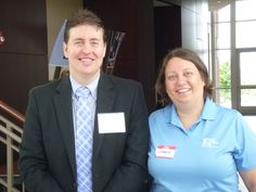 #Attorney Evan Guthrie with Jennifer Ashburn of Ashburn Law Firm at the Wills Clinic For Habitat For Humanity homeowners held by South Carolina Bar Young Lawyers Division at the South Carolina Bar Conference Center in Columbia, SC on Saturday June 29th 2013