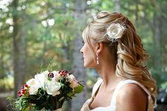 21 Unique Ceremony Ideas for Your Wedding (via Emmaline Bride) - alternative to traditional bridal veil by All for Love, L.O.V.E.