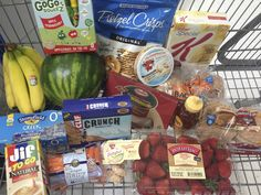 My Grocery Cart of Less Than $50