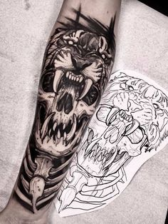 Forearm Tattoos are a choice of those who do not want their art to go unnoticed. A Forearm Tattoo remains trendy for a number of reasons, one of which is. Dope Tattoos, Skull Tattoos, Trendy Tattoos, Black Tattoos, Body Art Tattoos, New Tattoos, Sleeve Tattoos, Tatoos, Tattoo Ink
