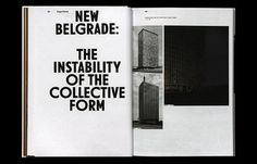 new belgrade: the instability of the collective form