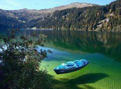 Arnensee Lake in Switzerland