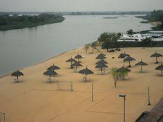 Ita Enramada. Río Praguay