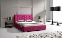 Łóżko tapicerowane Asola od #internumpolska / Upholstered Bed Asola