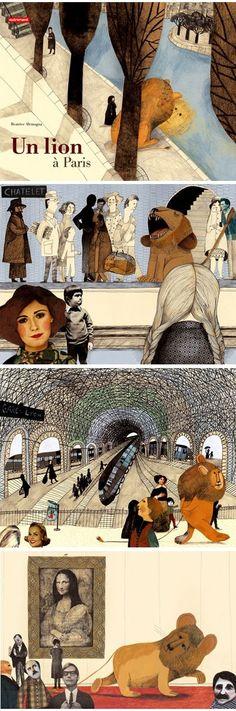 Ilustraciones de Beatrice Alemagna