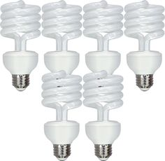 GE Lighting Energy Smart CFL replacement Spiral Light Bulb with Medium Base 6 Pack *** Go to the photo web link even more information. (This is an affiliate link). Spiral, Light Bulb, Base, Lighting, Medium, Link, Light Fixtures, Lightbulbs, Lights