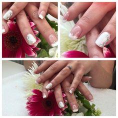 Beautiful French Manicure, prefect for brides #chromagel #bridenaild #gelpolish #1stepgelpolish #frenchwhite #naildesign