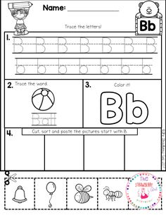 This ABC practice is perfect for preschool and kindergarten students.