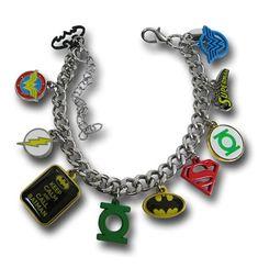 DC Comics Hero Charm Bracelet