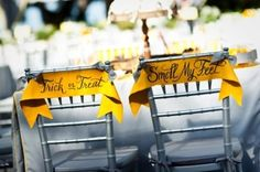 "The phrase ""smell my feet"" won't be out of place at all: 