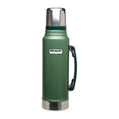 Stanley: Classic Vacuum Bottle 1.1qt Grn, at 17% off!