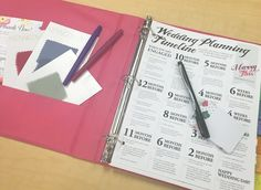 A DIY wedding planning binder is the key to staying organized. Learn how to create yours using our ultimate wedding planning checklist and free printables!