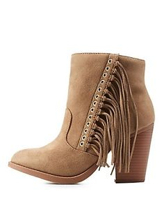 Stylish Booties, Ankle Boots & Combat Boots: Charlotte Russe