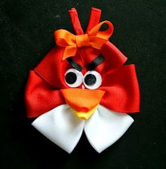 angry-birds-bow-tutorial (for the girls to wear at an angry bird party).