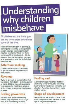 Every child misbehaves sometimes - these are some of the reasons why. For NSPCC advice on  how to encourage better behaviour see our guide: http://www.nspcc.org.uk/help-and-advice/for-parents-and-carers/guides-for-parents/better-behaviour/better-behaviour_wda90710.html. Foster carers need help too!! #ParentingCommunication