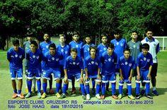 ESPORTE CLUBE CRUZEIRO RS  PRIMEIRA DIVISÃO GAÚCHA : 2002-  BASE
