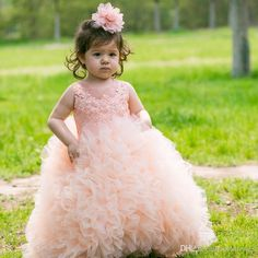 2016 Pretty Lace Aplliques Flower Girls Dresses For Wedding Ball Gown Ruffles Tulle Cheap Formal First Communion Dress Girls Pageant Dresses Flower Girl Dresses Sleeveless Flower Girl Dresses Girls Communion Dresses Online with $76.58/Piece on Mfsdresses's Store | DHgate.com