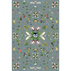 Tappeto Garden Of Eden grey Moooi carpets | Tappeti