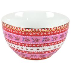 Buy PiP Studio Ribbon Rose Bowl, 9.5cm Online at johnlewis.com