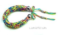 Friendship Bracelet - Easy. Loom knitting a friendship bracelet makes it quick and easy for anyone. Get a Free Pattern or Watch an Easy Video Tutorial.
