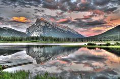 Vermillion Lake by Hai Chen, via 500px