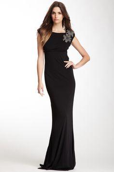 perfect black tie event dress