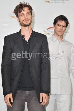 Matthew Gray Gubler and Thomas Gibson :)